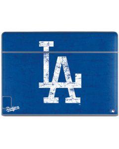 Los Angeles Dodgers - Solid Distressed Galaxy Book Keyboard Folio 10.6in Skin