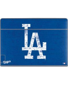 Los Angeles Dodgers - Solid Distressed Galaxy Book Keyboard Folio 12in Skin