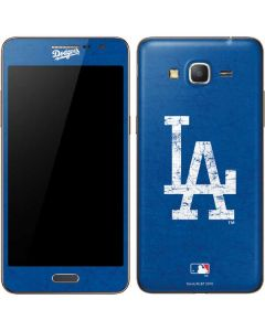 Los Angeles Dodgers - Solid Distressed Galaxy Grand Prime Skin