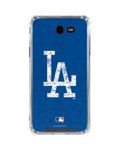 Los Angeles Dodgers - Solid Distressed Galaxy J7 (2017) Clear Case