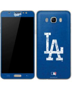 Los Angeles Dodgers - Solid Distressed Galaxy J7 Skin