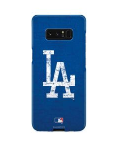Los Angeles Dodgers - Solid Distressed Galaxy Note 8 Lite Case