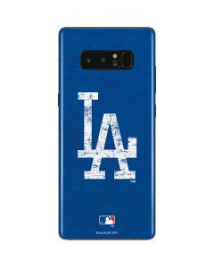 Los Angeles Dodgers - Solid Distressed Galaxy Note 8 Skin