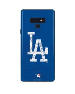 Los Angeles Dodgers - Solid Distressed Galaxy Note 9 Skin