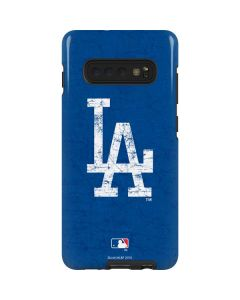 Los Angeles Dodgers - Solid Distressed Galaxy S10 Plus Pro Case