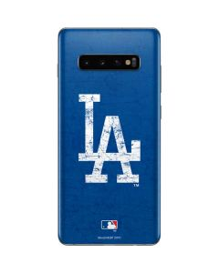 Los Angeles Dodgers - Solid Distressed Galaxy S10 Plus Skin