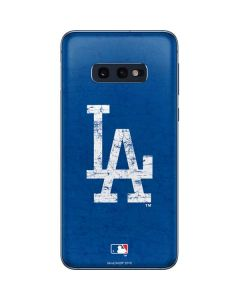Los Angeles Dodgers - Solid Distressed Galaxy S10e Skin