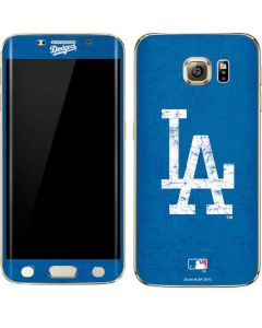 Los Angeles Dodgers - Solid Distressed Galaxy S6 edge+ Skin