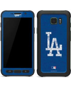 Los Angeles Dodgers - Solid Distressed Galaxy S7 Active Skin