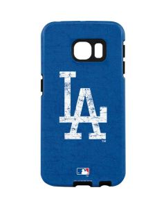 Los Angeles Dodgers - Solid Distressed Galaxy S7 Edge Pro Case