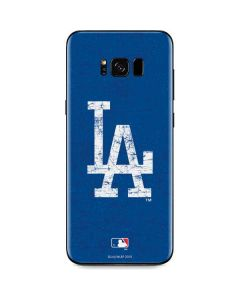 Los Angeles Dodgers - Solid Distressed Galaxy S8 Skin