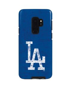 Los Angeles Dodgers - Solid Distressed Galaxy S9 Plus Pro Case