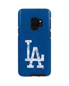 Los Angeles Dodgers - Solid Distressed Galaxy S9 Pro Case