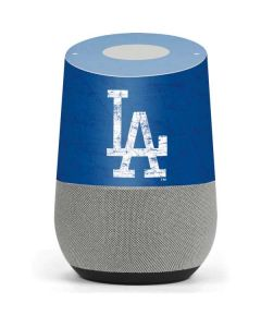 Los Angeles Dodgers - Solid Distressed Google Home Skin