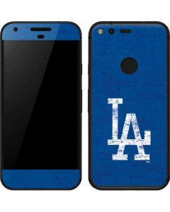 Los Angeles Dodgers - Solid Distressed Google Pixel XL Skin
