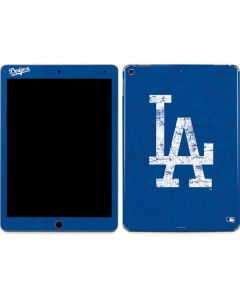 Los Angeles Dodgers - Solid Distressed Apple iPad Air Skin