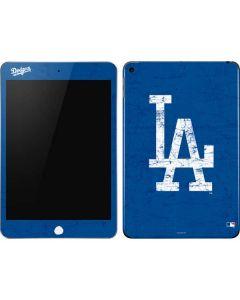 Los Angeles Dodgers - Solid Distressed Apple iPad Mini Skin