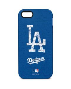 Los Angeles Dodgers - Solid Distressed iPhone 5/5s/SE Pro Case