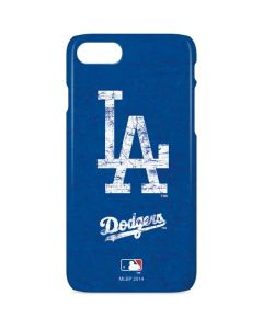 Los Angeles Dodgers - Solid Distressed iPhone 8 Lite Case