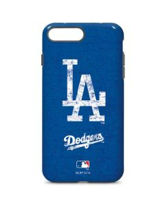 Los Angeles Dodgers - Solid Distressed iPhone 8 Plus Pro Case