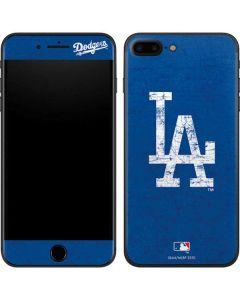 Los Angeles Dodgers - Solid Distressed iPhone 8 Plus Skin