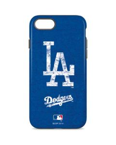 Los Angeles Dodgers - Solid Distressed iPhone 8 Pro Case