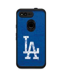 Los Angeles Dodgers - Solid Distressed LifeProof Fre Google Skin