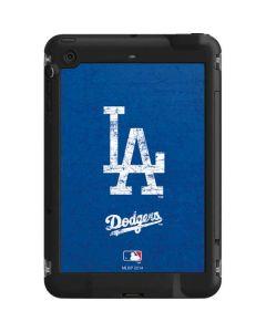 Los Angeles Dodgers - Solid Distressed LifeProof Fre iPad Mini 3/2/1 Skin