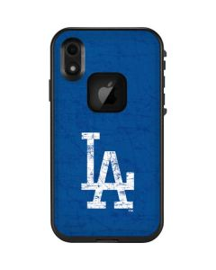 Los Angeles Dodgers - Solid Distressed LifeProof Fre iPhone Skin