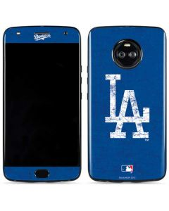 Los Angeles Dodgers - Solid Distressed Moto X4 Skin