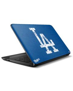 Los Angeles Dodgers - Solid Distressed HP Notebook Skin