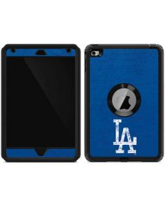 Los Angeles Dodgers - Solid Distressed Otterbox Defender iPad Skin