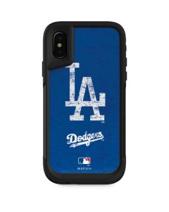 Los Angeles Dodgers - Solid Distressed Otterbox Pursuit iPhone Skin