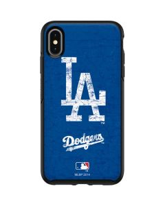 Los Angeles Dodgers - Solid Distressed Otterbox Symmetry iPhone Skin