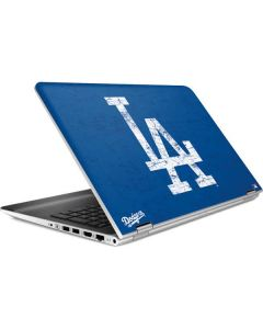 Los Angeles Dodgers - Solid Distressed HP Pavilion Skin