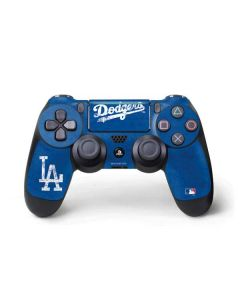 Los Angeles Dodgers - Solid Distressed PS4 Pro/Slim Controller Skin