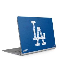 Los Angeles Dodgers - Solid Distressed Surface Book 2 15in Skin