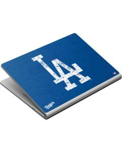 Los Angeles Dodgers - Solid Distressed Surface Book Skin