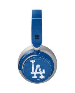 Los Angeles Dodgers - Solid Distressed Surface Headphones Skin