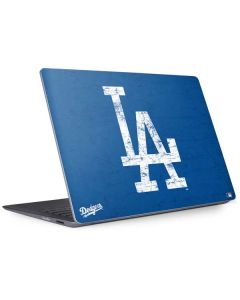 Los Angeles Dodgers - Solid Distressed Surface Laptop 2 Skin