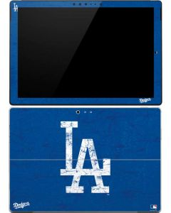 Los Angeles Dodgers - Solid Distressed Surface Pro 4 Skin