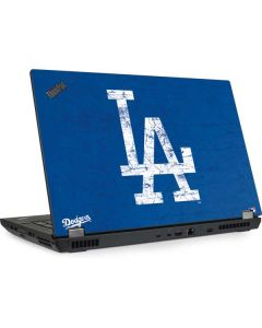 Los Angeles Dodgers - Solid Distressed Lenovo ThinkPad Skin