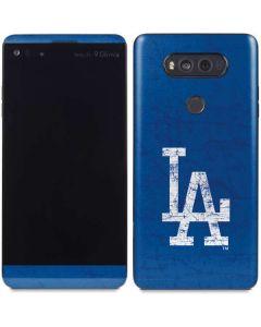 Los Angeles Dodgers - Solid Distressed V20 Skin