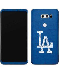 Los Angeles Dodgers - Solid Distressed V30 Skin