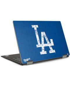Los Angeles Dodgers - Solid Distressed Dell XPS Skin