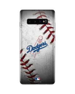 Los Angeles Dodgers Game Ball Galaxy S10 Plus Skin