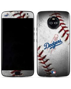 Los Angeles Dodgers Game Ball Moto X4 Skin
