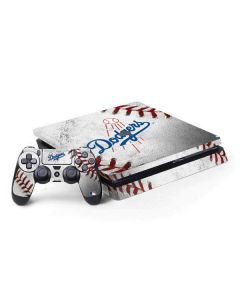 Los Angeles Dodgers Game Ball PS4 Slim Bundle Skin