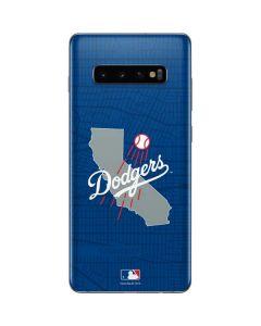 Los Angeles Dodgers Home Turf Galaxy S10 Plus Skin