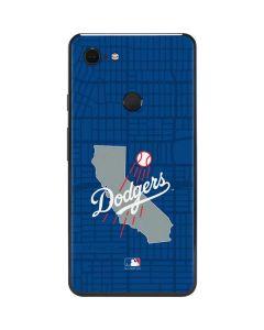 Los Angeles Dodgers Home Turf Google Pixel 3 XL Skin